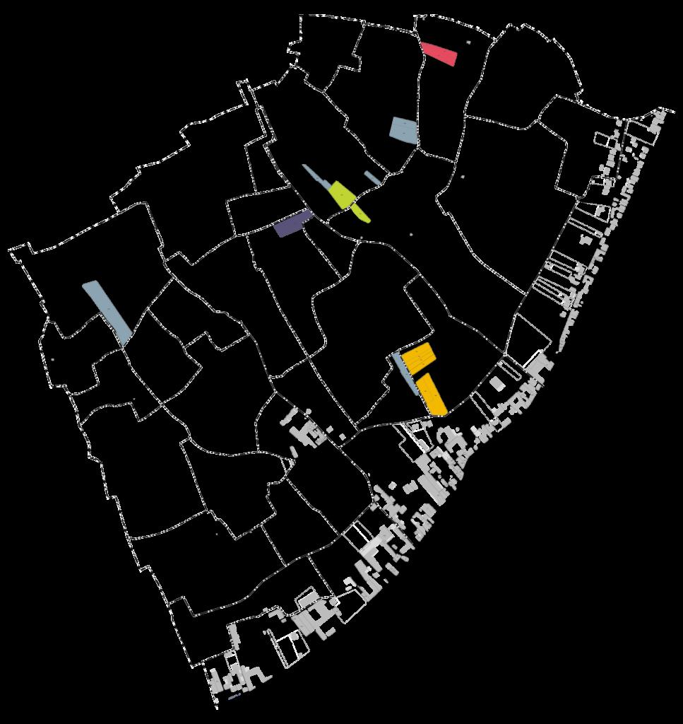 Plan des parcelles JMSélèque à Pierry